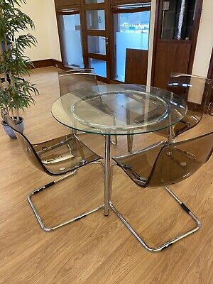 .  The Table Top And Legs Come Apart And The Acrylic Bucket Seat Comes Off The C • 53£