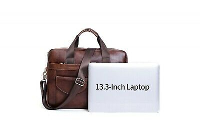 Leather Laptop Bag With Top Handle • 69.99£
