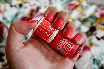 ModelsOwn Coral Glaze Nail Varnish Rare SG008 Professional Hypergel MADE IN UK • 6.95£