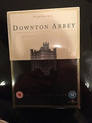Downtown Abbey DVD Series 1 And 2 Sealed  • 3.50£