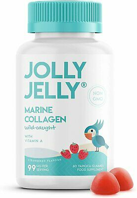 £9.99 • Buy Marine Collagen Tapioca Gummies - 99mg - Wild-Caught Hydrolysed Marine...