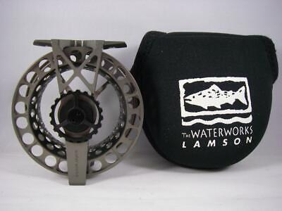 $ CDN348.07 • Buy Waterworks/LAMSON ULA Force F2X SL FLY REEL; USA Made For 4-6 WT Rods