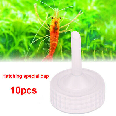 10x Aquarium Brine Shrimp Incubator Cap Artemia Hatcher Regulator Valve Kit O^QE • 1.68£