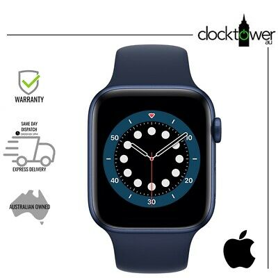 AU639 • Buy Apple Watch Series 6 GPS + Cellular 44mm Aluminium Blue A2376 Good Condition AU
