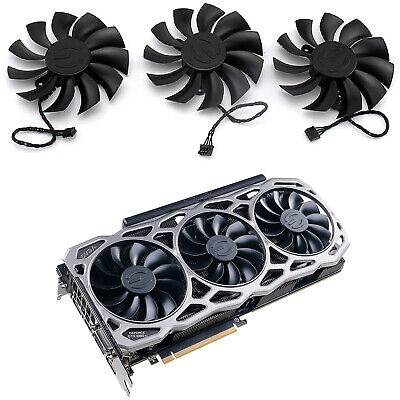 AU20.80 • Buy For EVGA GTX 1080TI FTW3 DT Gaming PLA09215B12H Graphics Card Fan Part TEH