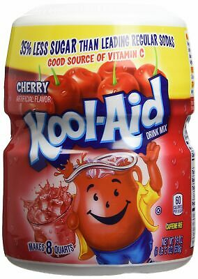 Kool Aid Cherry Drink Mix Artificially Flavoured 538g 19oz • 9.99£