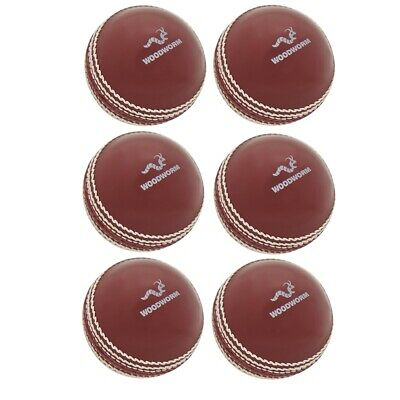 £27.99 • Buy Woodworm Cricket 6 Pack Incrediball Soft Cricket Balls, Red