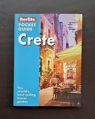 Berlitz Pocket Guide CRETE - Best Selling Travel Guide Book • 0.99£