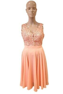 £29.91 • Buy Eva & Lola Dress With Lace Top - Size L