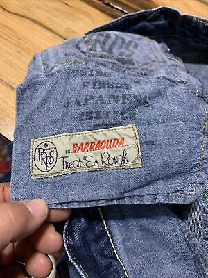 Mens Prps Barracuda Fit Japanese Selvedge Jeans 33  Distressed. Must See • 47.22£
