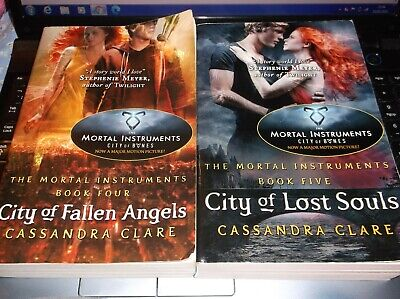 The Mortal Instruments 4&5 : City Of Fallen Angels By Cassandra Clare   Clean • 2£