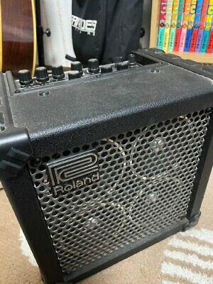 AU267.50 • Buy Roland Micro Cube Bass Rx Battery Powered Bass Amp From Japan