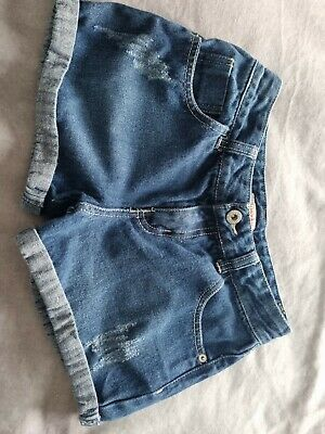 Girl's Denim Shorts Age 10 From Bluezoo • 1£