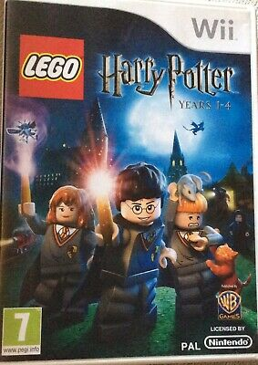 Lego Harry Potter: Years 1-4 (Wii) - Game  Very Good Condition • 5£