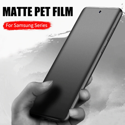 $ CDN3.41 • Buy Matte Hydrogel Film Screen Protector For Samsung Galaxy S21 S20 Ultra Note 20 S9