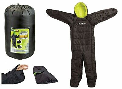 £59.50 • Buy Summit All In One Body Suit Sleeping Bag 3 Season Adult Size Fishing Camping ...
