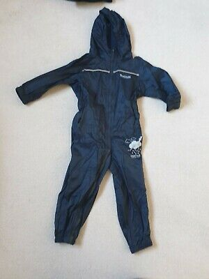 Boys Regatta Waterproof All In One Age 2-3 Excellent Condition • 2.30£