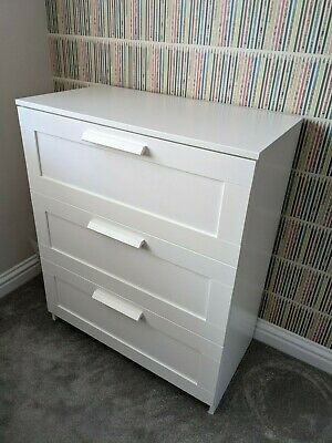 IKEA BRIMNES Chest Of Drawers - Excellent Condition • 10.50£