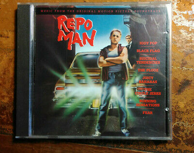 OST CD Repo Man - Iggy Pop, Black Flag, Circle Jerks Etc. (MCA) • 6.99£