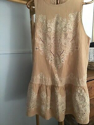 AU100 • Buy Spell And The Gypsy Collective Mini Dress Size L Darling Embroidered Like New