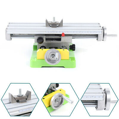 $81.02 • Buy Compound Milling Machine Work Table 2 Axis Cross Slide Bench Drill Vise Fixture