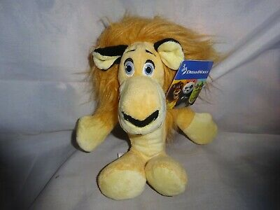 Alex The Lion Soft Toy From Madagascar. • 9£