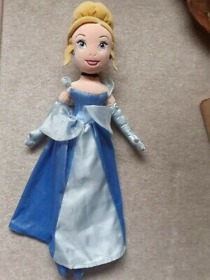 Disney Store Princess Cinderella 21  Plush Doll Soft Toy  • 6.99£