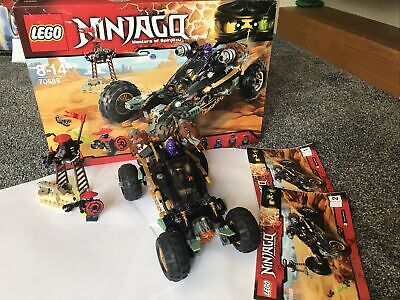 Lego Ninjago 70589 Rock Roader Retired Set Cole RX Lil' Nelson 100% • 5.80£