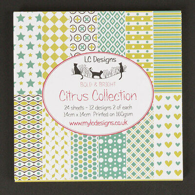 £5.90 • Buy LC Designs - Paper Stack - Citrus Collection