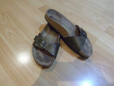 Birkenstock/papillio Bronze Sandals Size Uk 5 Or Eu 38 • 12.99£