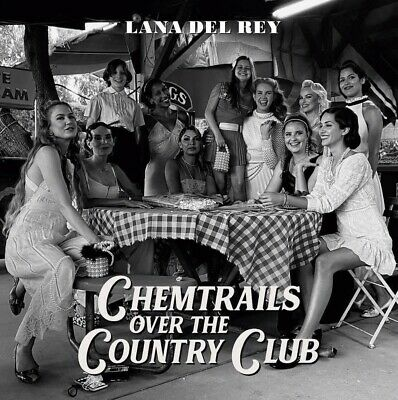 LANA DEL REY Chemtrails Over The Country Club Yellow OBI Vinyl LP • 434.12£