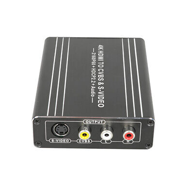 £29.53 • Buy NEW HDMI To AV Adapter Converter Cable CVBS & S-VIDEO 1080P Composite Video