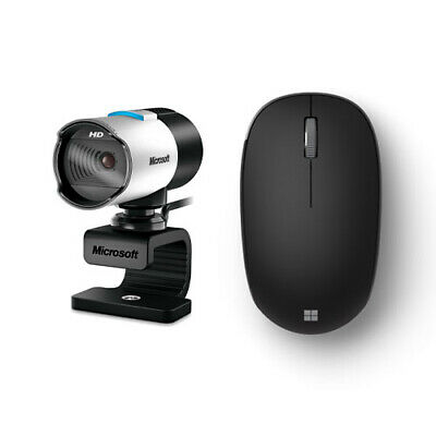 $ CDN113.62 • Buy Microsoft LifeCam Webcam + Microsoft Bluetooth Mouse Matte Black - 1920 X 1080 V