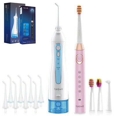 View Details Fairywill Cordless Water Flosser For Teeth & Rechargeable Electric Toothbrush • 43.99$