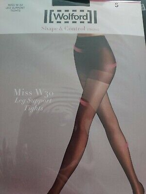 Wolford Shape And Control Strong, Miss W30, S, Black • 6.50£
