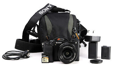 AU1027.89 • Buy Sony A6300 DSLR Camera & Sony 16-50mm Lens Kit Battery & Charger 15,058 Shot EXC