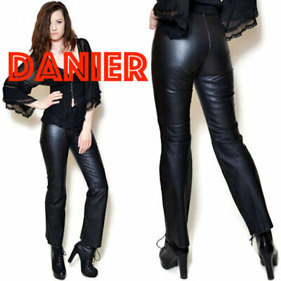 $ CDN94.41 • Buy Danier Leather Pants Size 8 Boot Cut Made From High-quality Leather In Canada