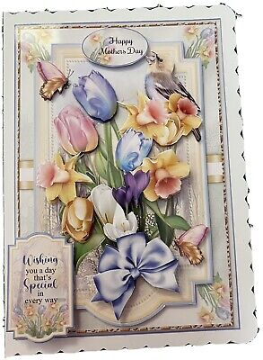 £1.70 • Buy Handcrafted 3D Mothers Day Card Topper