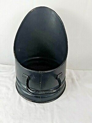 Vintage Coal Bucket Scuttle Black • 10.99£