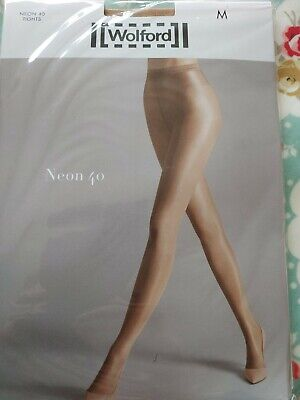 Wolford Neon Tights, Medium, Gobi. RRP£27.99 • 9.60£