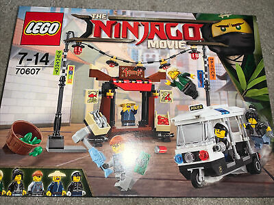 LEGO Ninjago Movie - City Chase (70607) - Rare Deleted Set With Instructions • 13.99£