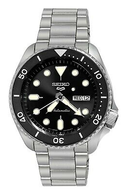 $ CDN274.20 • Buy Seiko 5 Sports Automatic Black Dial Date Day Stainless Steel Bracelet SRPD55