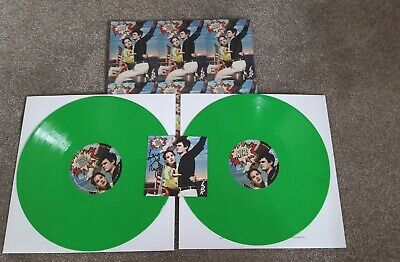 Lana Del Rey NFR Collector Pack Lime Green Vinyl CD Cassette With SIGNED PRINT • 89.99£