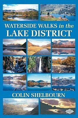 Waterside Walks In The Lake District By Colin Shelbourn Paperback Book The Cheap • 12.99£