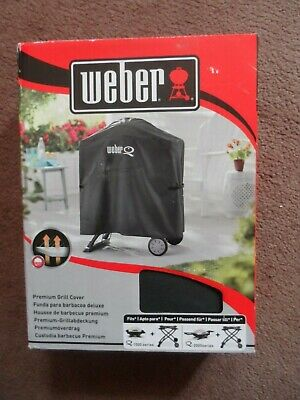 $ CDN75.31 • Buy Weber 7120 Bbq Cover Premium Grill Cover Fits 1000 & 2000 Series