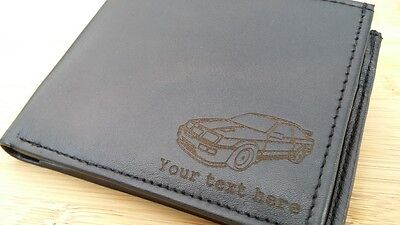 $ CDN38.56 • Buy Sierra RS Cosworth Engraved Leather Wallet (merchandise Gift Present Sapphire)
