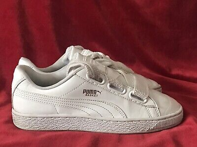 AU9.02 • Buy Puma Basket White Size 5 UK 38 EU