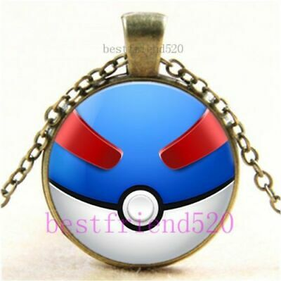Pokemon Go Necklaces With Chain And Pendants - Party Favour Gifts Of Pikachu Etc • 3.90£