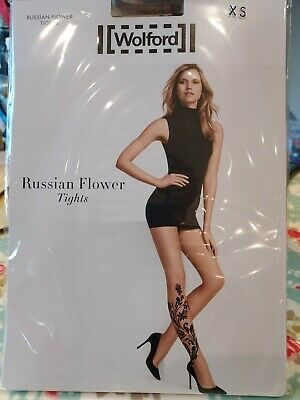 Wolford Russian Flower Tights • 6.90£