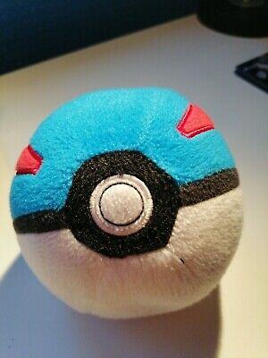 Official Pokemon Pokeball Great Ball WCT Nintendo Soft Plush Toy • 7.50£